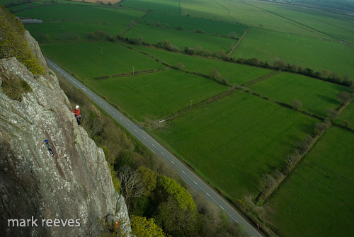 Welsh Winter Trad Climbing
